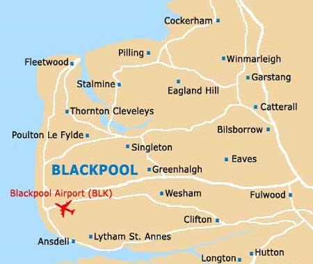 Fleetwood Map